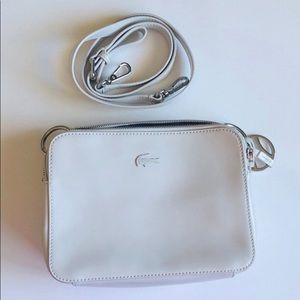 Lacoste Leather Crossbody Bag